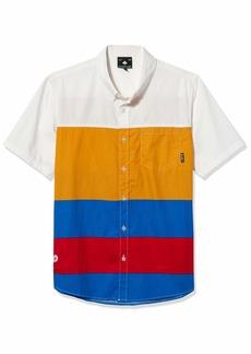 LRG Men's Short Sleeve Crew Neck T-Shirt  L