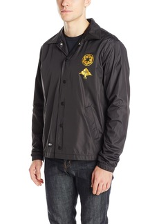 LRG Men's Star Wars The Darth Vader Button Up Coaches Jacket