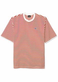LRG Men's Striped Short Sleeve Knit T-Shirt  M