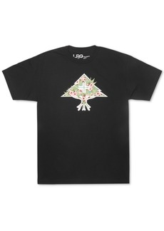 Lrg Men's Stuffed Tree Graphic T-Shirt