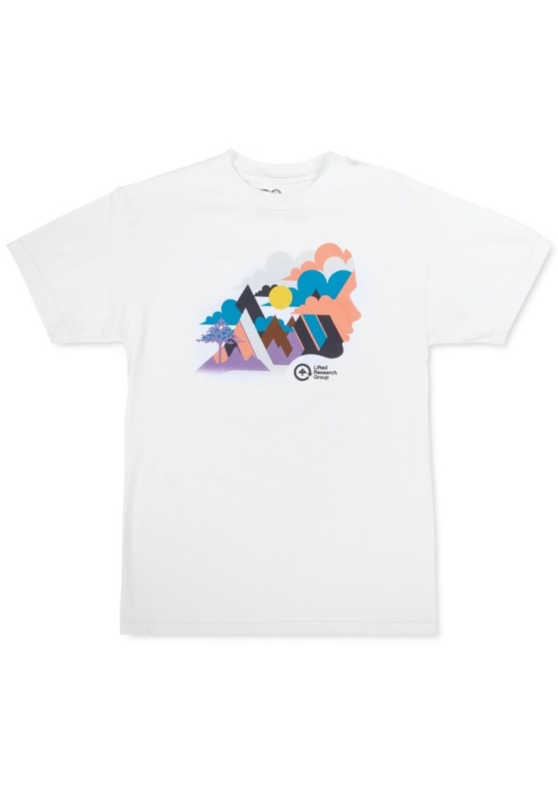 Lrg Men's Terrain Logo Graphic T-Shirt