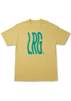 Lrg Men's Wavy Logo T-Shirt
