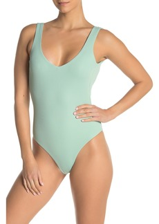 L*Space Arizona Ribbed One-Piece Swimsuit
