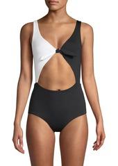 L*Space Colorblock 1-Piece Swimsuit