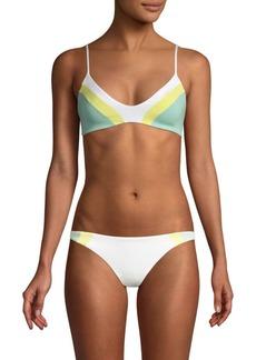 L*Space Colorblock Bodhi Bikini Top