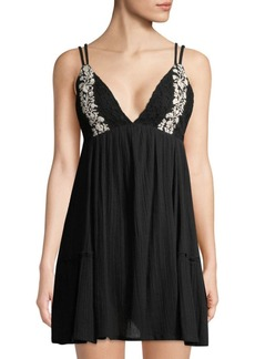L*Space Eliana Embroidered Cotton Summer Dress