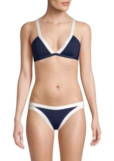 L*Space Farrah V-Neck Bikini Top