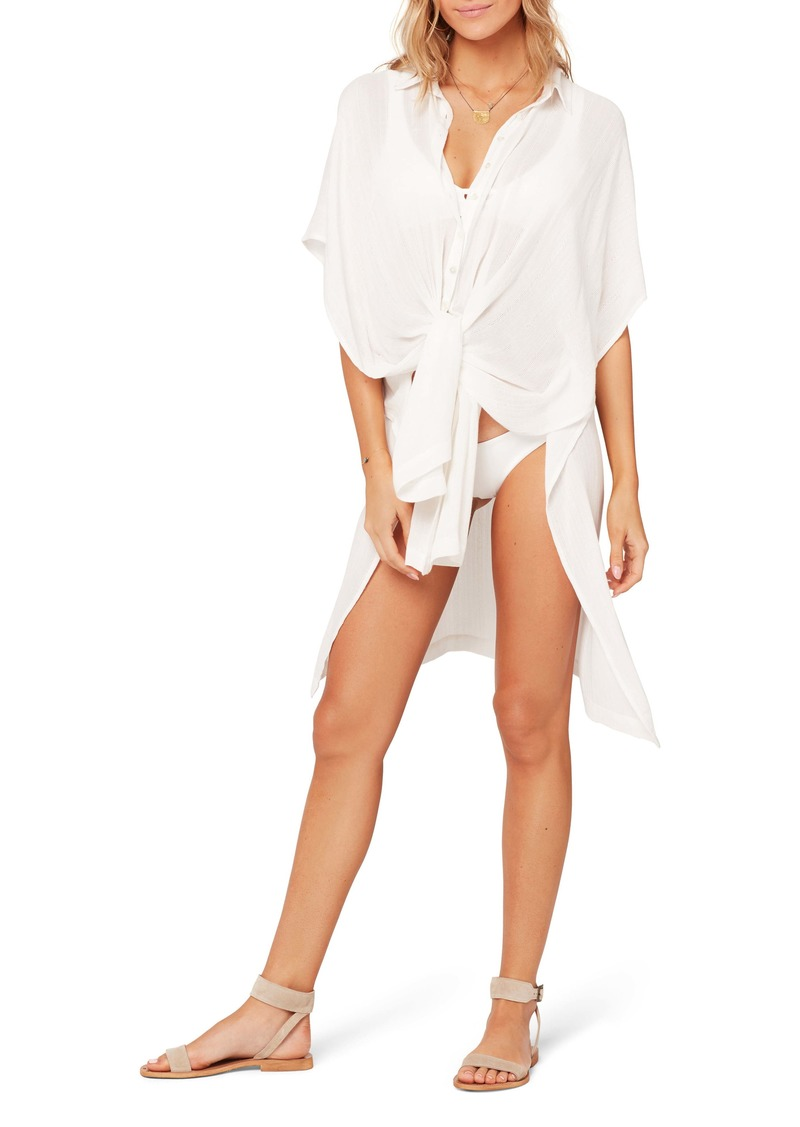 L*Space L Space Anita Cover-Up Shirtdress