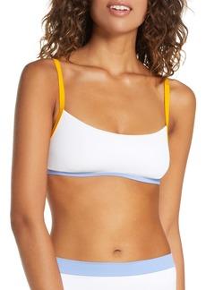 L*Space L Space Gemma Ribbed Bikini Top