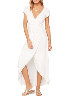 L*Space L Space Goa Cover-Up Maxi Wrap Dress