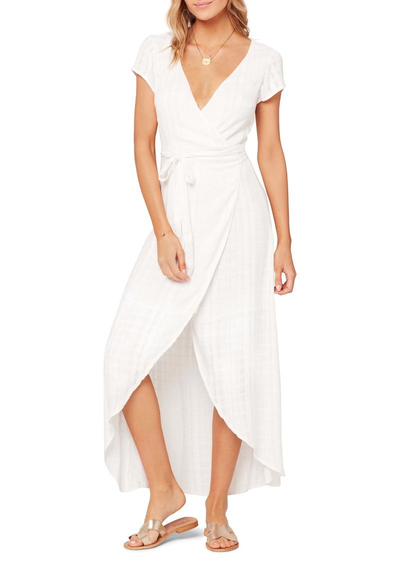 L*Space L Space Goa Cover-Up Maxi Wrap Dress