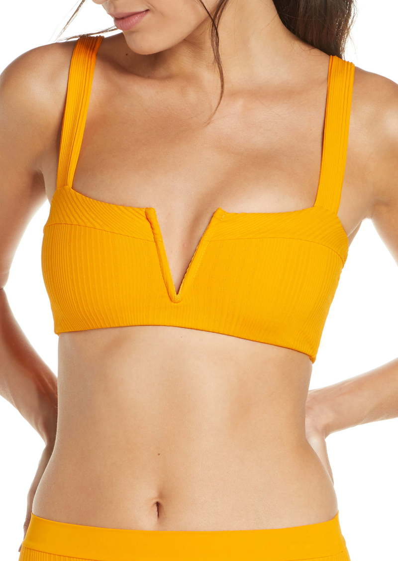 L*Space L Space Lee Lee Ribbed Bikini Top