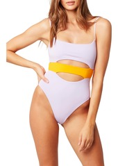 L*Space L Space Maxwell Colorblock One-Piece Swimsuit