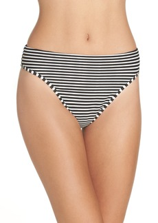 L*Space L Space Pierre High Waist Ribbed Bikini Bottoms
