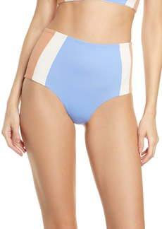 L*Space L Space Portia Girl High Waist Bikini Bottoms