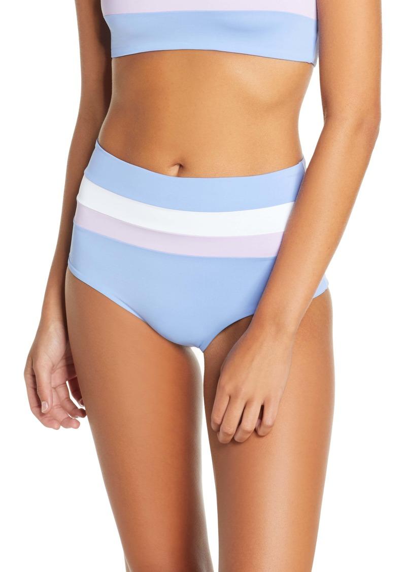 L*Space L Space Portia Reversible Colorblock Bikini Bottoms