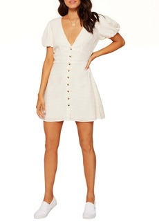 L*Space L Space Sabrina Puff Sleeve Cover-Up Minidress