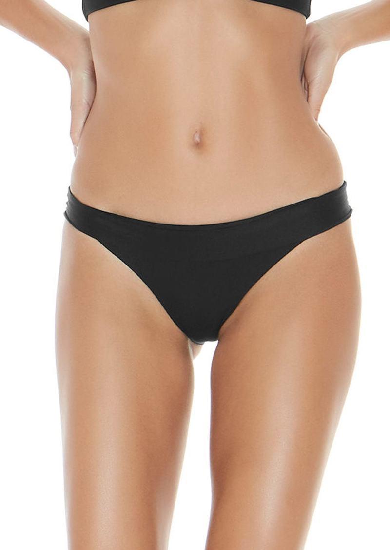 L*Space L Space Veronica Ribbed Bikini Bottoms