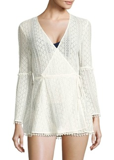 L*Space Aura Crochet Knit Cover-Up