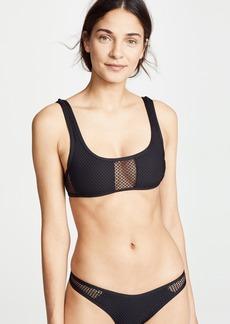 L*Space Benji Mesh Bikini Top