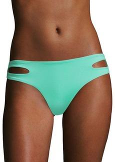 L*Space Estella Solid Cutout Bikini Bottom