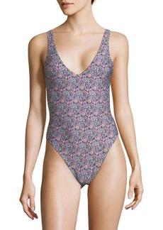 L*Space One -Piece Floral-Print Swimsuit