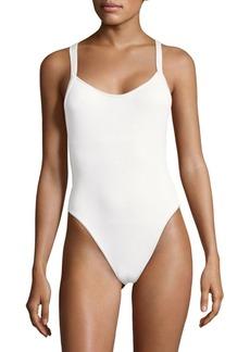 L*Space One-Piece Crisscross Swimsuit