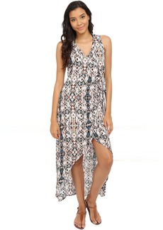 L*Space St Tropez Wrap Dress Cover-Up