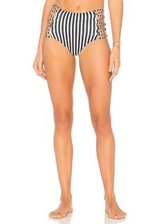 L*SPACE Tripp High Waist Bikini Bottom