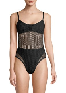 L*Space Mesh Madness One-Piece Bathing Suit