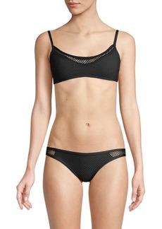 L*Space Naomi Mesh Bikini Top