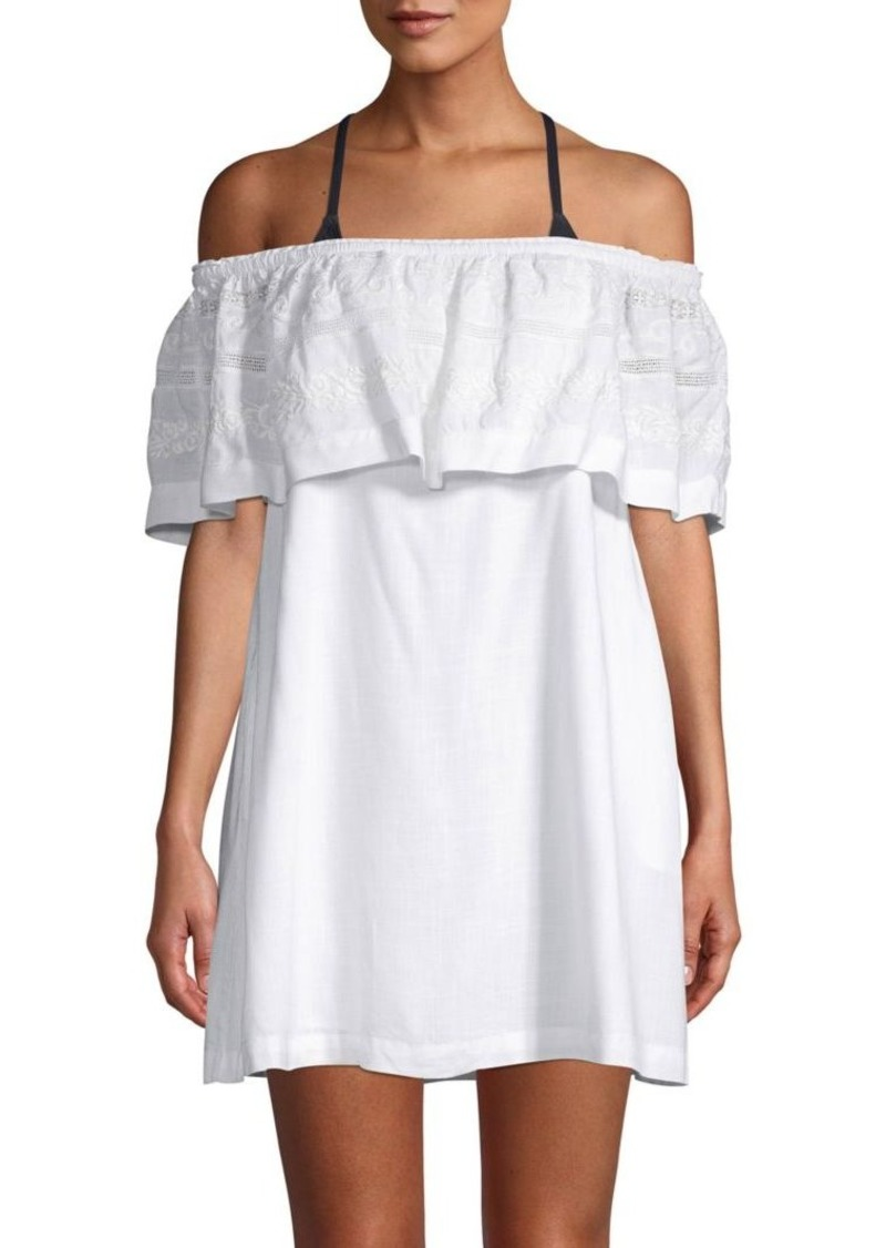 L*Space Off-The-Shoulder Cover-Up