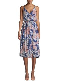 L*Space Printed Blouson Dress
