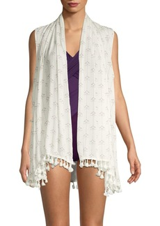 L*Space Printed Tassel Cover-Up