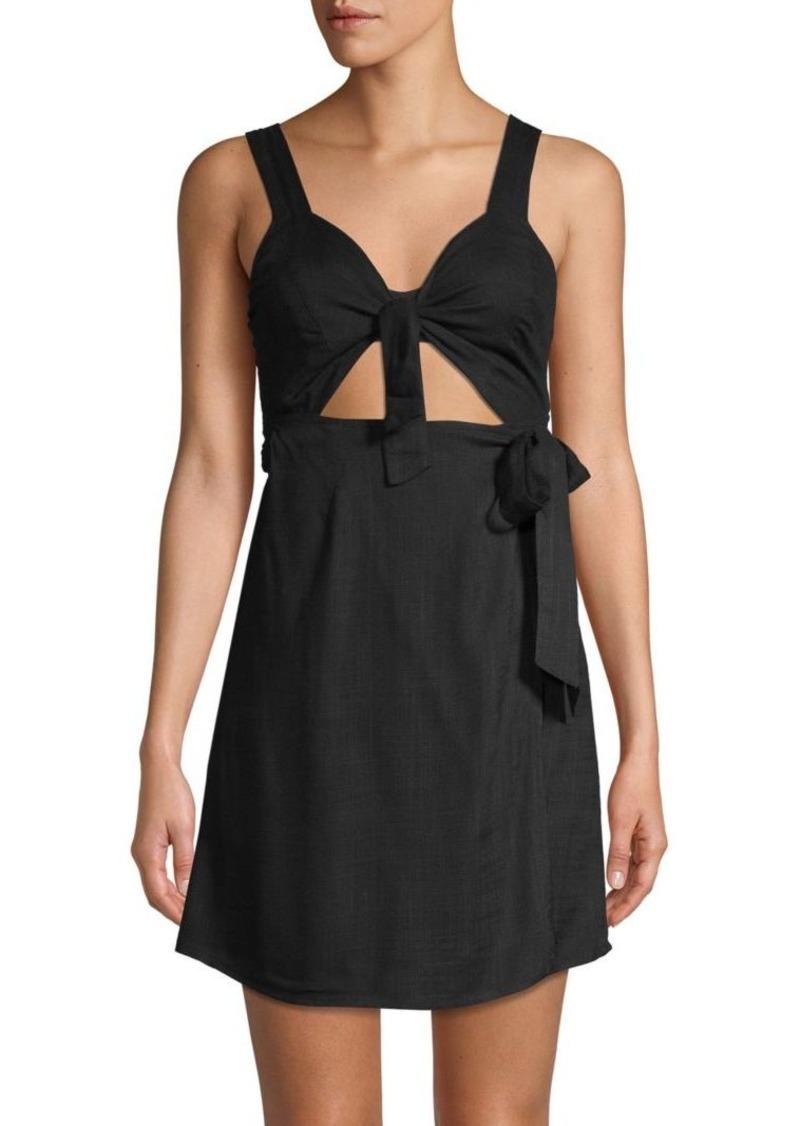 L*Space Self-Tie Mini Dress