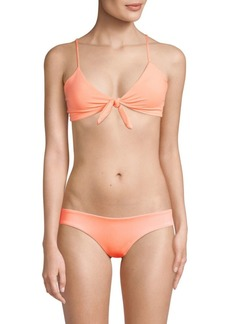 L*Space Sensual Solids Flashback Bikini Top