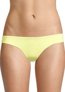 L*Space Sensual Solids Sandy Bikini Bottom