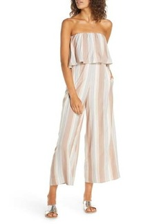 L*Space Strapless Cover-Up Jumpsuit