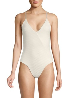 L*Space Strappy Back One-Piece Swimsuit