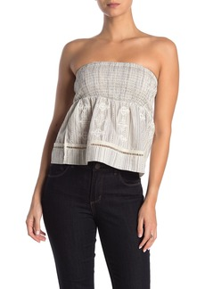 L*Space Winnie Strapless Cover-Up Top