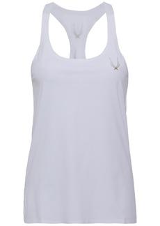 Lucas Hugh Woman Printed Tech-jersey Tank White
