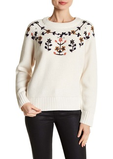 Lucca Couture Heidi Embroidred Sweater