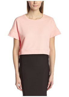 Lucca Couture Women's Boxy Crop Tee  XS