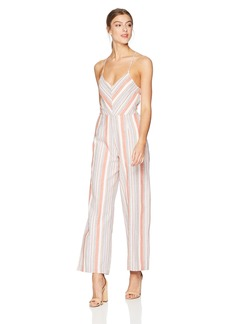 Lucca Couture Women's Everly Racer Back Cami Jumpsuit