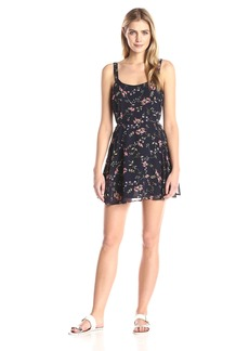 Lucca Couture Women's Floral Printed Sleeveless Easy Dress