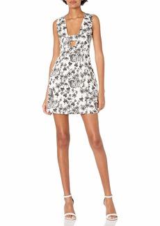 Lucca Couture Women's Hardwoven High-Waist Dress
