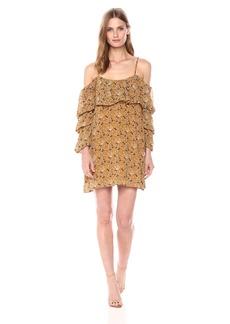 Lucca Couture Women's Katie Off The Shoulder Floral Print Mini Dress