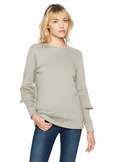 Lucca Couture Women's Lilian Bell Sleeve Elbow Detail Sweater