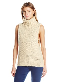 Lucca Couture Women's Mara Chunky Sweater Vest