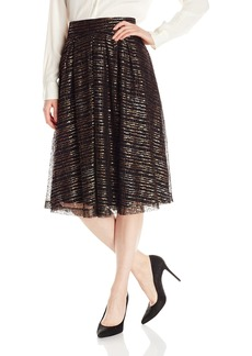 Lucca Couture Women's Midi Pleated Skirt